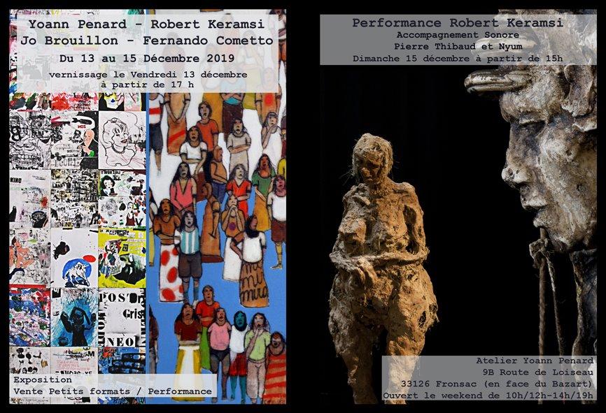 Yoann Penard; Robert Keramsi; Jo Brouillon; Fernando Cometto; Pierre Thibaud; Nyum; performance