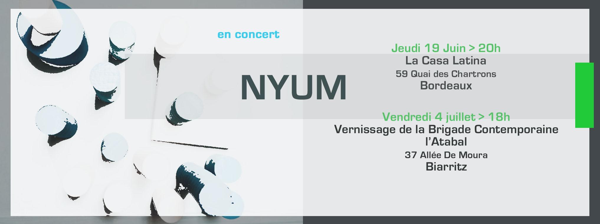 Nyum en concert